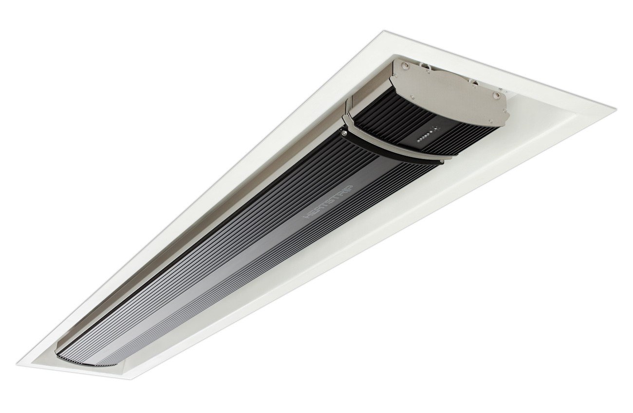 caisson d 39 encastrement pour chauffage infrarouge exterieur. Black Bedroom Furniture Sets. Home Design Ideas