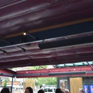 chauffage économique pour l'exterieur et les terrasses de cafés