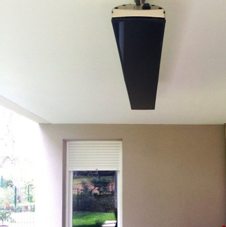 Chauffage design vision 3200 w fixation plafond heatscope franc - Chauffage radiant plafond ...