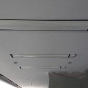 encastrement de chauffage dans un plafond pour une terrasse
