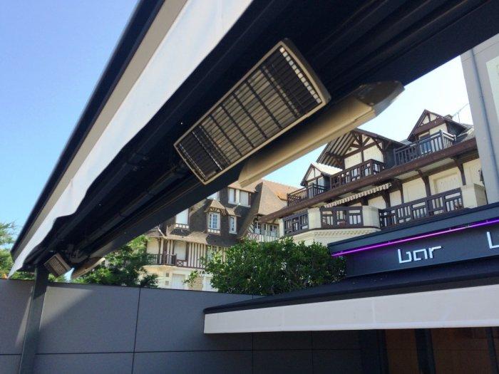 Chauffage ext rieur professionnel basse consommation en - Chauffage electrique exterieur pour terrasse ...