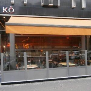 Chauffage infrarouge terrasse restaurant