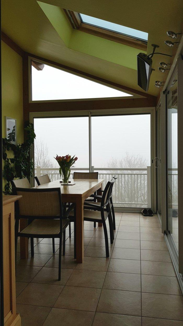 chauffage pour une v randa ou pergola sans travaux conomique et est tique. Black Bedroom Furniture Sets. Home Design Ideas