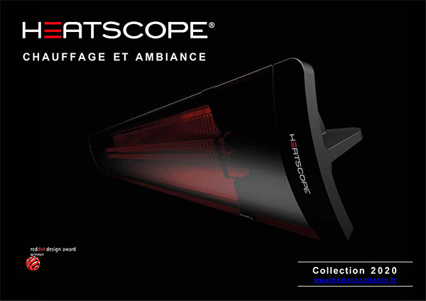 Couverture Catalogue Heatscope France