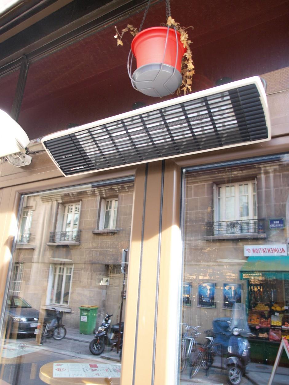 chauffage radiant infrarouge heatscope mod le spot 2800w avec t l commande brasserie comptoir. Black Bedroom Furniture Sets. Home Design Ideas