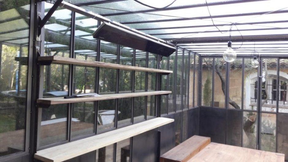 Interior designer chauffage sous une verri re valentina c for Cout verriere exterieure