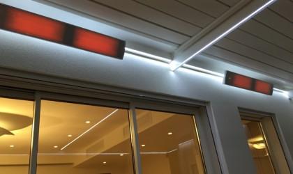 radiateur en verre vitroc ramique vision blanc 3200 w. Black Bedroom Furniture Sets. Home Design Ideas