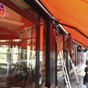 Le Moulin de la Vierge. Pains, pâtisseries et restaurants chauffe ses terrasses avec heatscope france
