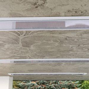 Coffre d'encastrement pour faux plafond pour chauffage infrarouge